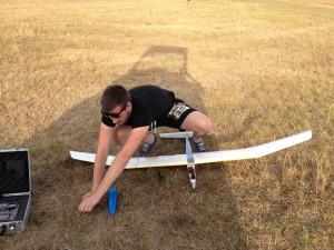Příprava Tracy k letu